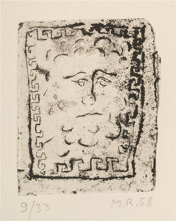 Markus Raetz, (Swiss, b. 1941), Lusher-Mappe, 1958-1974 (seven works)