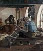 *Ernst Oppler, (German, 1867-1929), Workers in Shop, Ernst Oppler, Click for value