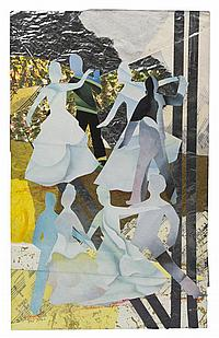 Allen Stringfellow, (American, 1923-2004), The Ball, 1998