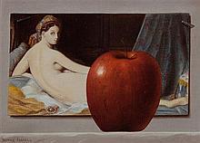 Patrick Farrell, (Wisconsin, b. 1945), Odalisque Avec La Pomme, 1975