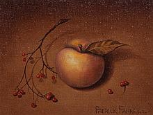 * Patrick Farrell, (Wisconsin, b. 1945), Peach and Berries, together with a signed copy of The Art of Patrick Farrell