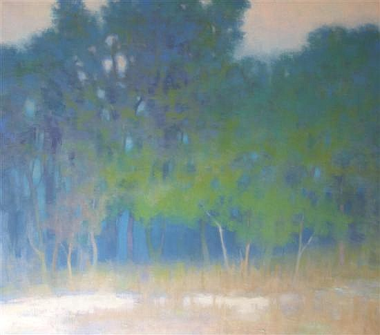 Richard Mayhew, (American, b. 1924), Twilight, 1983