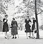 Jerry Schatzberg, (American, 20th Century), Four at Gramercy Park, New York, 1959, Jerry Schatzberg, Click for value