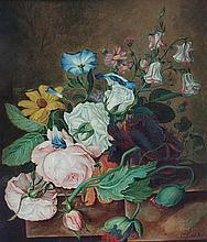 * Cornelis Johannes van Hulstijn, (Dutch, 1811-1879), Still Life