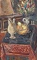 Leo Kahn, (Israeli, 1894-1983), Still Life, Leo Kahn, Click for value
