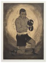 Tony Fitzpatrick (American, b. 1958) 8 Count, 1992
