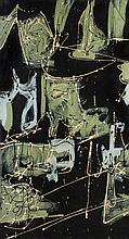 Ezio Martinelli, (American, 1913-1981), Untitled (Abstraction), 1949
