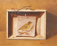 Patrick Farrell, (Wisconsin, b. 1942), Kentucky Warbler, 1970, together with two others (three works)