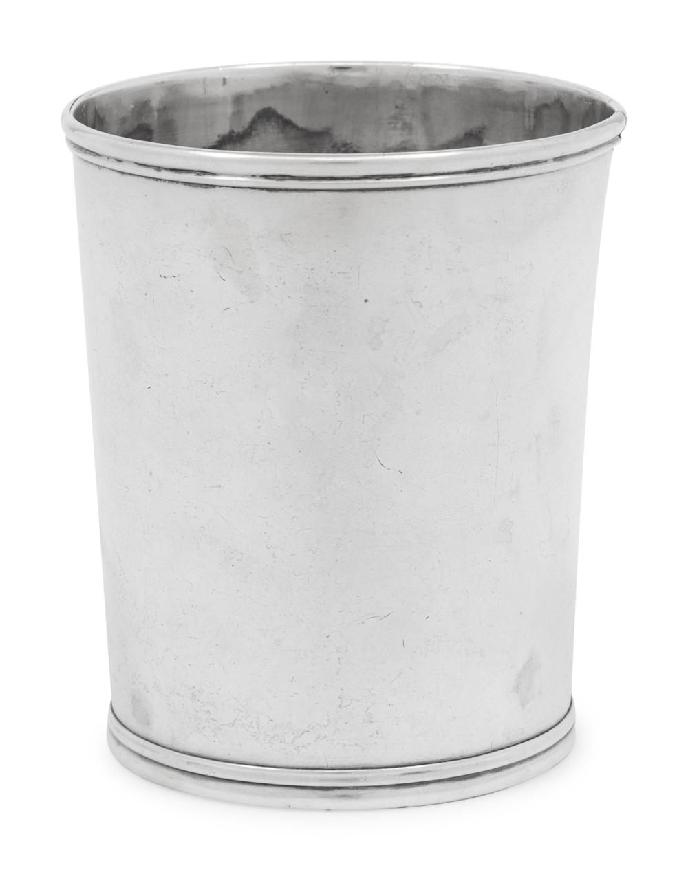An American Coin Silver Julep Cup