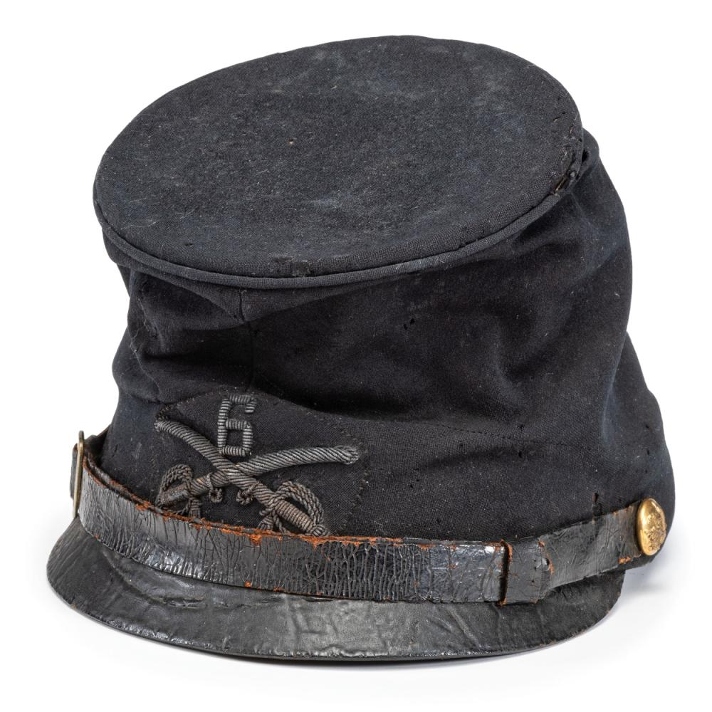 Cavalry officer's McDowell style forage cap.