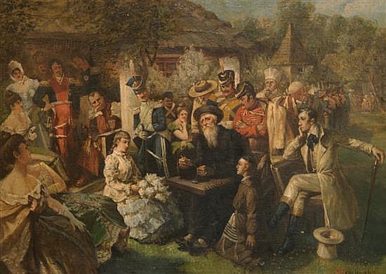 Jan Czeslaw Moniuszko, (Polish, 1853-1908), Jankiel's Concert