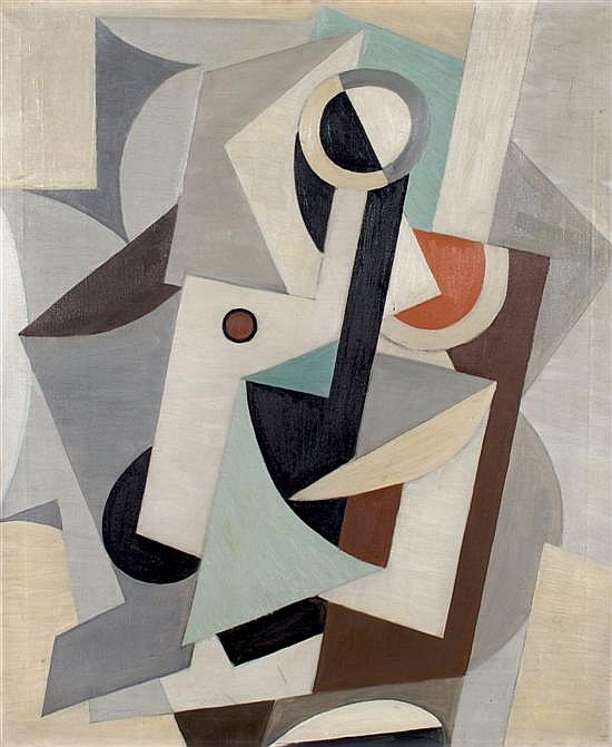 Richard Koppe, (American, 1916-1973), Abstract Painting