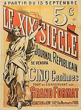* Emile Levy, (French, 1829-1890), Le XIX Siecle: Journal Republicain, 1892