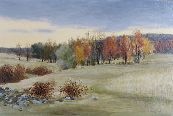 Robert Angeloch, (American, b. 1922), Landscape
