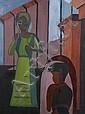 Helen Gerardia, (American, 1903-1988), Two Figures, Helen Gerardia, Click for value