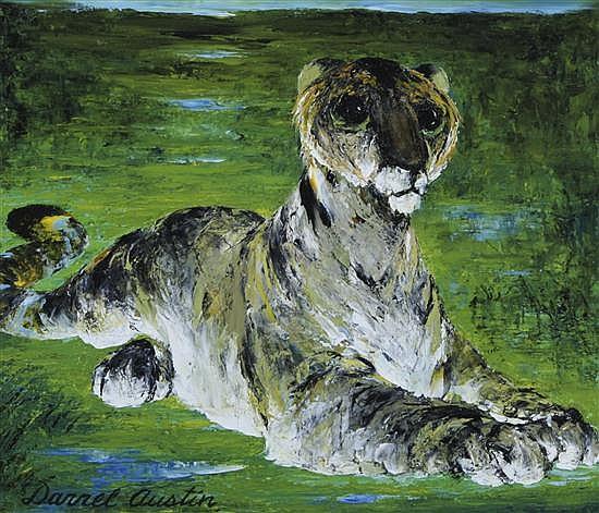 Darrel Austin, (American, 1907-1994), Wilderness Beast