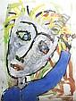 Paul Kostabi, (American, b. 1962), Hand Me Over, 1999, Paul Indrek Kostabi, Click for value