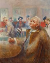 Guy Pene du Bois (American, 1884-1958) Professional Thinker, 1940