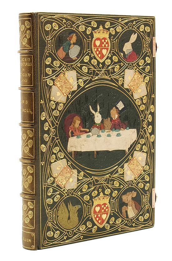 *(KELLIEGRAM) CARROLL, LEWIS. Alice's Adventures in Wonderland. Illus. by John Tenniel. London, 1914. Limited.