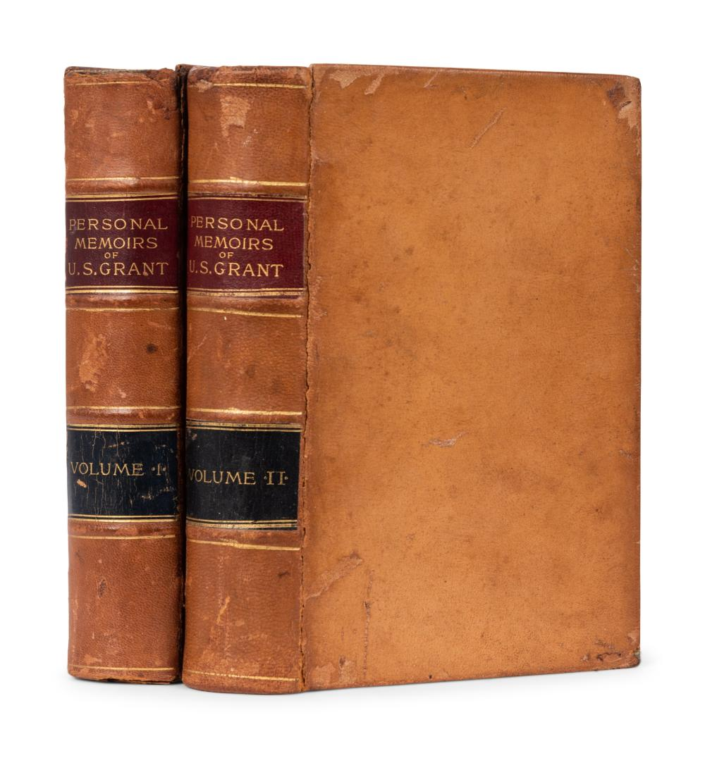 [CIVIL WAR] -- GRANT, Ulysses S. (1822-1885). The Personal Memoirs of U.S. Grant. New York: Charles L. Webster & Company, 1885. FIRST EDITION.