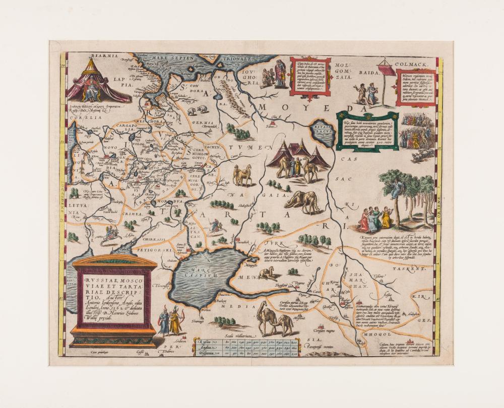 ORTELIUS, Abraham (1527-1598). Russiae, Moscoviae et Tartariae descriptio... [Antwerp, 1588].