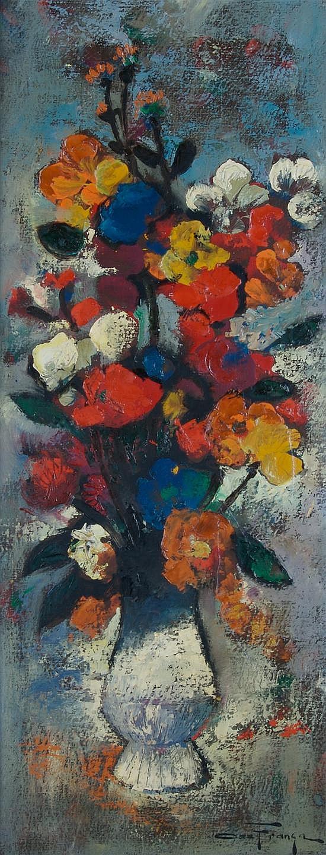 Ozz Franca, (American, 1928-1991), Floral Still Life