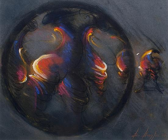 Bernard Dreyfus, (Nicaraguan, b. 1940), Orb, 2002