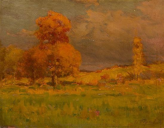 Frank Charles Peyraud, (American, 1858-1948), Landscape