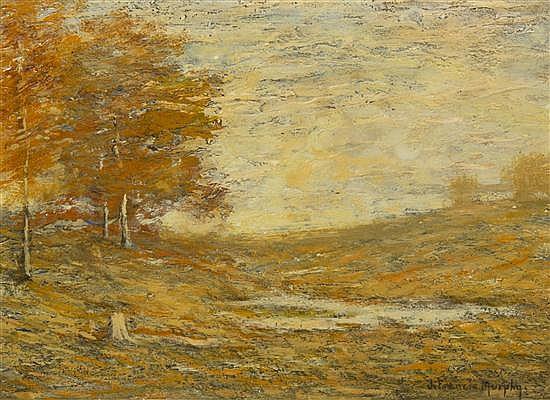 * John Francis Murphy, (American, 1853-1921), Autumn Landscape