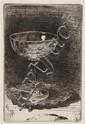 * James Abbott McNeill Whistler, (American, 1834-1903), The Wine Glass, 1858