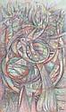Eladio Gonzales, (Cuban, b. 1937), Bird Nest, 1991, Eladio Gonzalez, Click for value