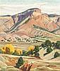 Ila Mae McAfee, (American, 1897-1995), Landscape