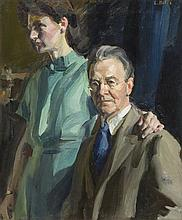 Louis L. Betts, (American, 1873-1961), Portrait