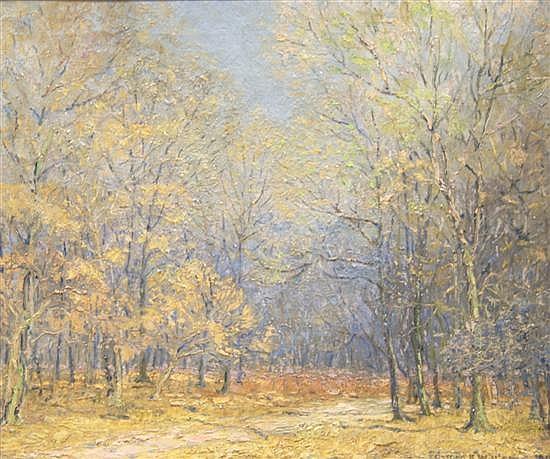 Edward K. Williams, (American, 1870-1950), Forest Scene