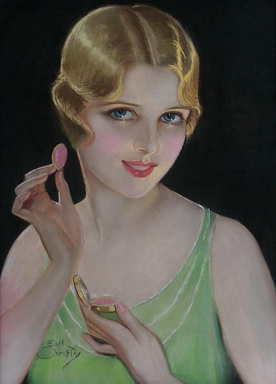 F. Earl Christy, (American, 1882-1961), Ruby Lips