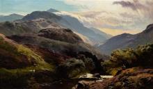 Sidney Richard Percy, (British, 1810-1879), Glen Falloch, Breadalbane, 1872