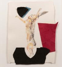 Anne Chu (American, b. 1959) Rubric Study: Boxing Lepus, 2014