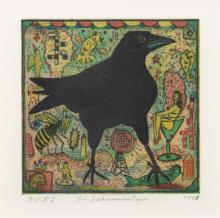 Tony Fitzpatrick (American, b. 1958) The Fisherman's Crow, 1993