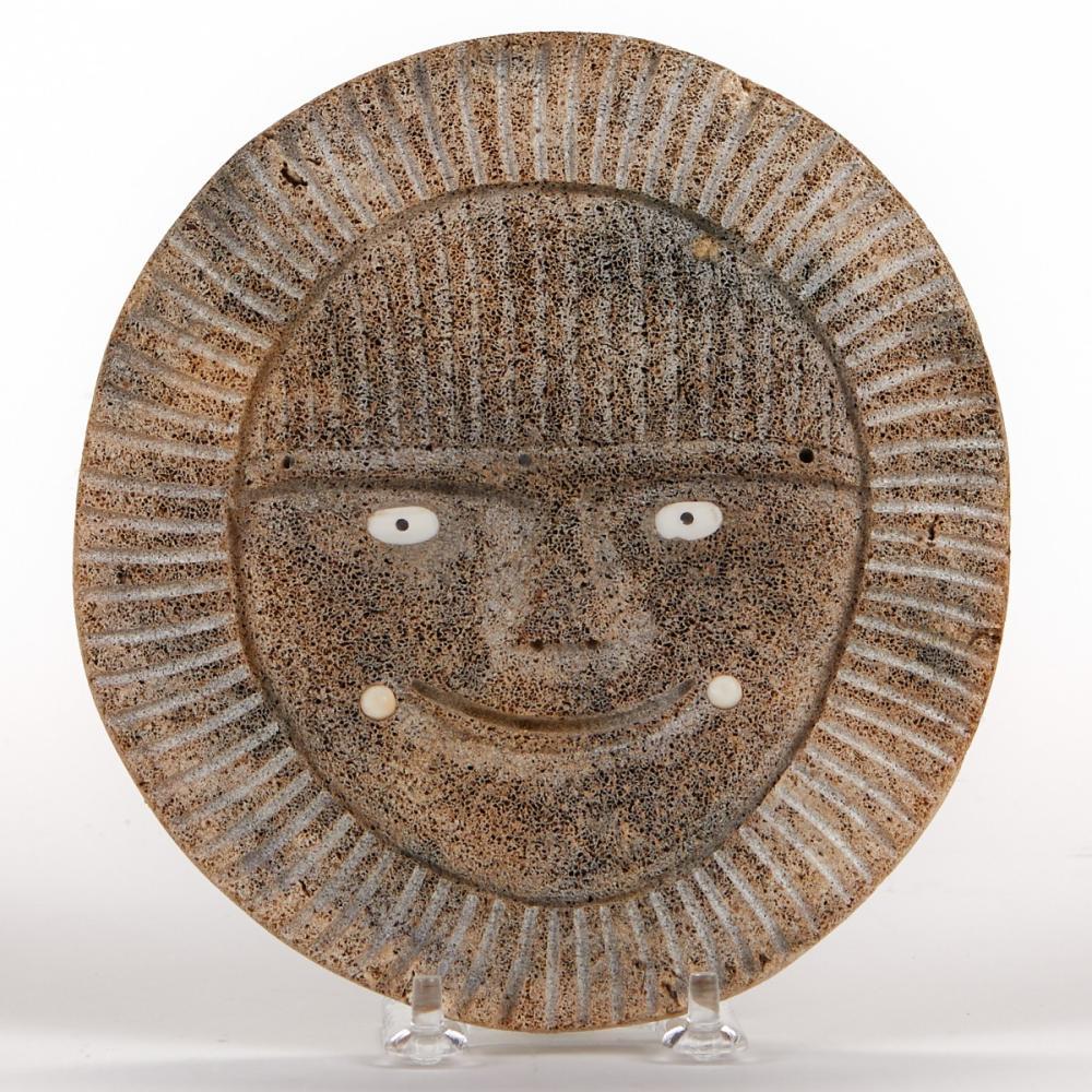 Rick Kuzuguk Inuit Whalebone Mask