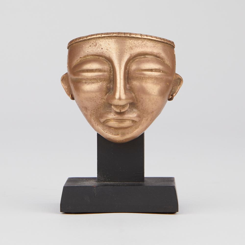 Pre-Columbian Style Quimbaya Gold Mask
