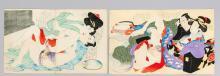 2 Japanese Meiji Shunga c