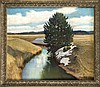 Hans Klatt (1876-1936), Landschaft mit letztem Schnee, Öl/Lwd., u. re. sign. u. dat. ''München 1922'', 62 x 74 cm, ger. 73 x 84 cm, Hans Klatt, €100