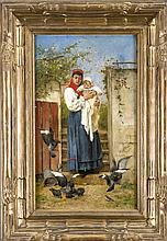 Genremalerei berühmt  Adolf Echtler Paintings for Sale | Adolf Echtler Art Value Price Guide