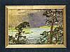 August Blunck (1858-1946), Blick auf den Wannsee, Öl auf Karton, um 1900, links unten signiert, Literatur: W. Barthelmess, An Havel & Spree, Fischerhude 2015, Abb. S. 115, 18,0 cm x 27,2 cm, ger., August Blunck, €150