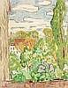Ludwig von Hofmann (1861-1945), Blick aus dem Fenster, Pastell auf Bütten, um 1900, links unten monogrammiert. Nach seinem Studium an den Akademien Dresden und Karlsruhe sowie seinem einjährigen Aufenthalt in Paris, wo er die renommierte Académie, Ludwig von Hofmann, €900