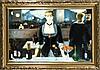 Édouard Manet (1832-1883) nach, Kopie der 2. H. des 20. Jh., ''Bar in den Folies-Bergère'', Öl/Lwd., u. re. sign. ''F. Lotte'', 60 x 93 cm, ger. 78 x 109 cm, Edouard Manet, €300