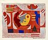 Ida Kerkovius (1879-1970), abstrakte Komposition, Farbserigraphie von 1963, u. re. handsign., u. li. num. 54/95, 42 x 50,5 cm, hinter Glas u. Pp. ger. 70 x 80 cm, Ida Kerkovius, €200