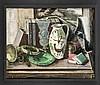 Kurt Haase-Jastrow (1885-1958), Stillleben, wohl in den 1920er Jahren entstandenes Werk des Künstlers, Haase-Jastrow studierte ab 1903 in Berlin, seit 1906 an der Dresdener Akademie bei Zwintscher. Seit 1913 beschickte er u.a. die Großen Berliner, Kurt Haase-Jastrow, €750