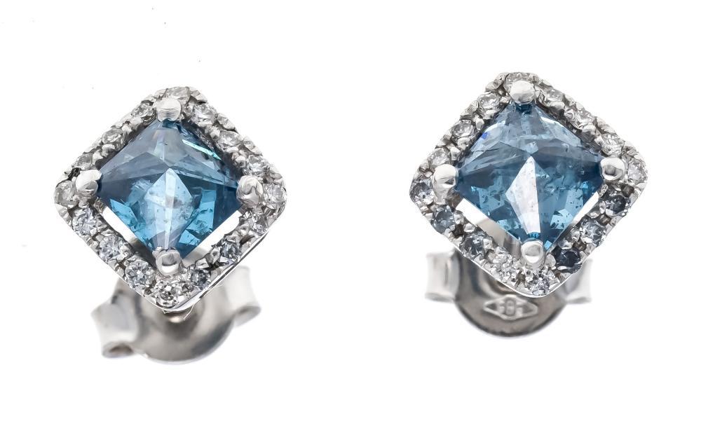 Diamond earrings WG 585/000 w