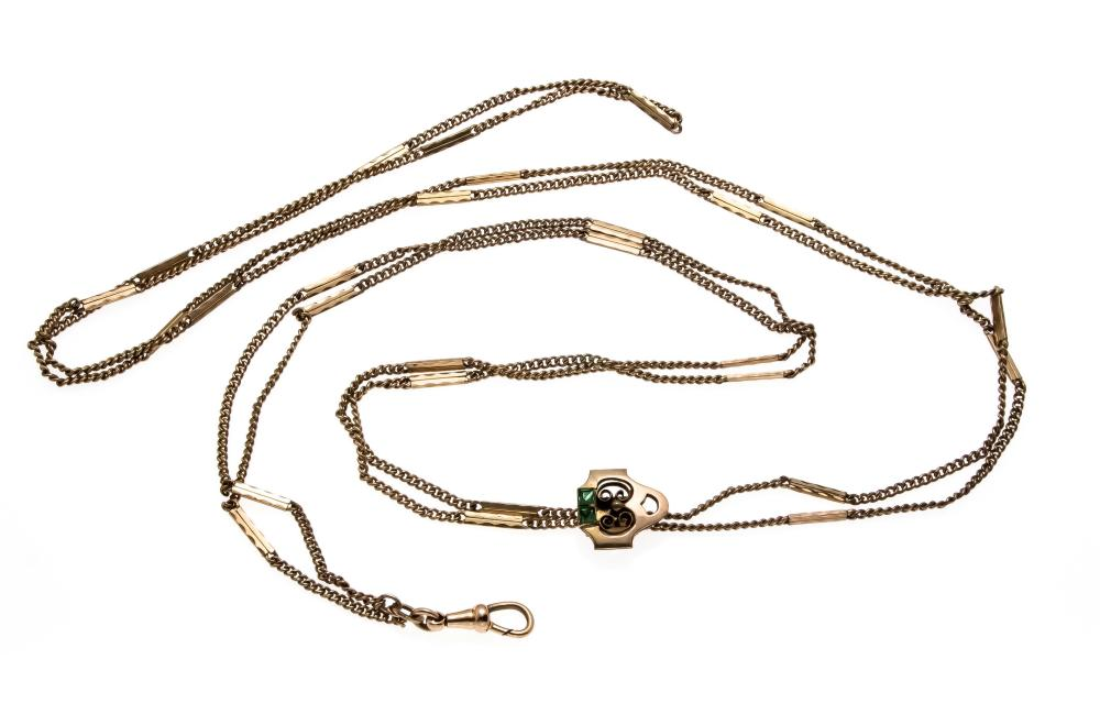 Long watch chain Doublé with